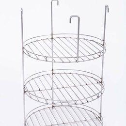 Решетки - Решетка для тандыра Д30 3-хярусная с доп. кольцом, 0