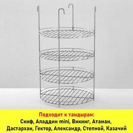 Решетки - Решетка Д30 4-хярусная H500 с доп. кольцом  (под камень Д26-27), 0