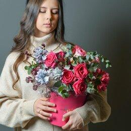 Цветы, букеты, композиции - Композиция «Пылкая любовь» - М (30см), 0