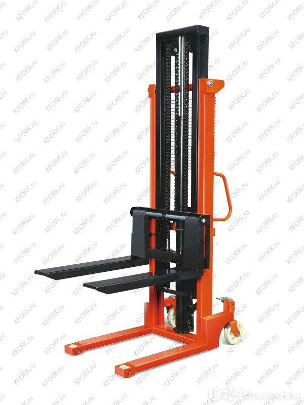 Штабелер ручной гидравлический с раздвижными вилами TOR 320-870 мм CTY-EH 1.5... по цене 110071₽ - Мебель для учреждений, фото 0