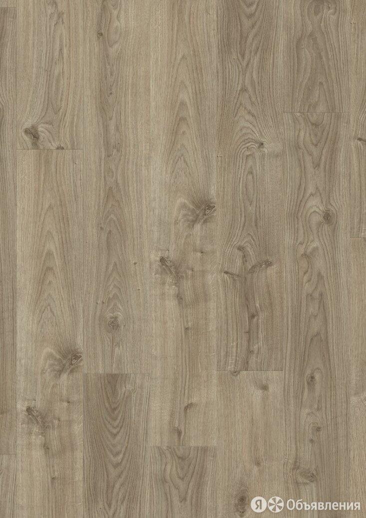ПВХ плитка Quick Step Balance Rigid Click Дуб коттедж серо-коричневый по цене 2960₽ - Керамическая плитка, фото 0