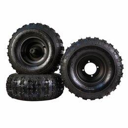Шины, диски и комплектующие - Комплект зимней резины на Citycoco Трайк (3 шт покрышки + 3 диска), 0