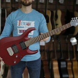 Электрогитары и бас-гитары - Электрогитара Cort X100-OPBC красная, 0
