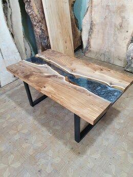 Столы и столики - Столик кофейный река Столик журнальный река, 0