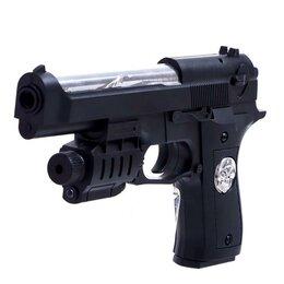 Игрушечное оружие и бластеры - Пистолет «Кобра», с лазером, 0