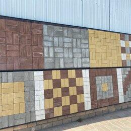 Тротуарная плитка, бордюр - Брусчатка цветная / Плитка тротуарная, аллейная, 0