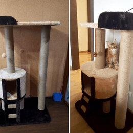 Когтеточки и комплексы  - Домик для кошки с когтеточкой, 0