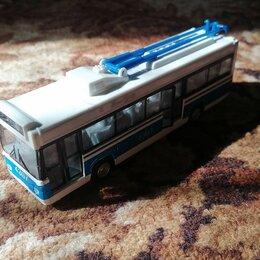 Машинки и техника - Масштабная модель троллейбуса зиу-682б ssm, 0