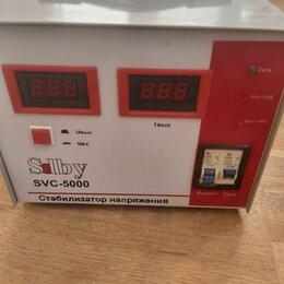 Стабилизаторы напряжения - Стабилизатор напряжения однофазный Solby SVC-5000, 0