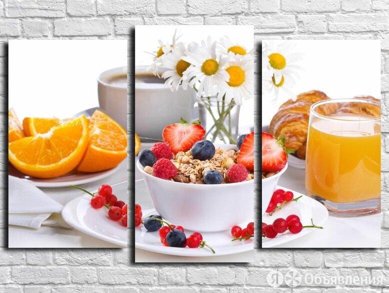 Модульная картина Для кухни 60 (Материал: Натуральный холст, Размер: 120х80 см.) по цене 3250₽ - Интерьерная подсветка, фото 0