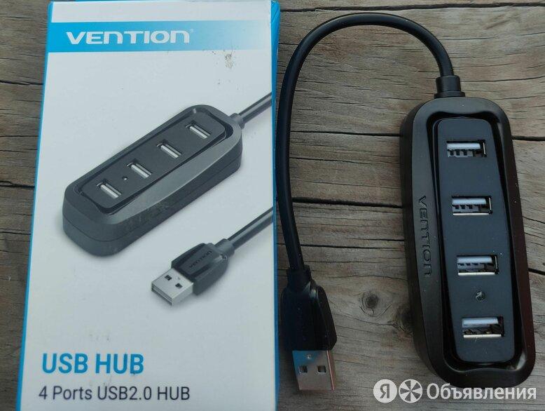USB2.0 hub 1x4 Vention по цене 500₽ - USB-концентраторы, фото 0