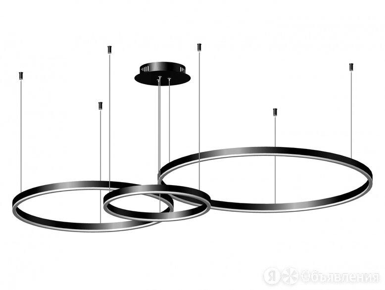 KINK LIGHT - 08223,19PA(4000К) Подвес диммируемый Тор черный w133.5*95(d80+60... по цене 34900₽ - Люстры и потолочные светильники, фото 0