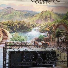 Обои - Фотообои на стену. Пейзаж с водопадами и арками, 0
