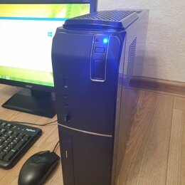 Настольные компьютеры - Slim пк G3260, SSD 240Гб, 0