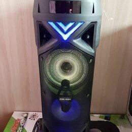 Портативная акустика - bluetooth колонка с микрофоном BT Speaker 6201, 0