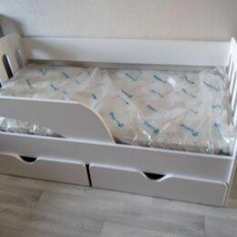 Кроватки - Подростковая кровать с бортиком классика 160х80, 0