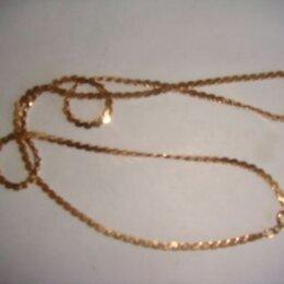 Цепи - Цепочка 585 проба золото винтаж 90х годов, 0