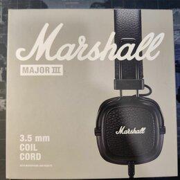 Наушники и Bluetooth-гарнитуры - Наушники Marshall Major 3 проводные, 0