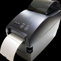 Принтеры чеков, этикеток, штрих-кодов - Принтер термоэтикеток USB 127мм/сек, 0