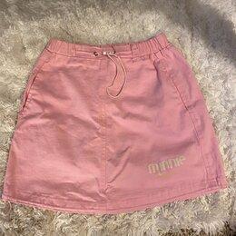 Юбки - Розовая спортивная юбка, 0