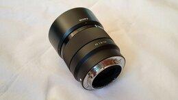 Объективы - Объектив Sony FE 50mm f/1.8 SEL 50F 18F, 0
