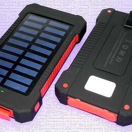Универсальные внешние аккумуляторы - Универсальный внешний аккумулятор Solar Charger 8000mAh 5V 2A copy, 0