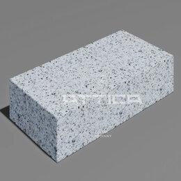 Тротуарная плитка, бордюр - Гранитная брусчатка 200х100х30 от 2400 руб. / м2, 0