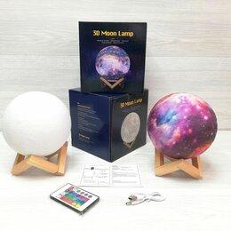 Ночники и декоративные светильники - Ночник Луна 18 см с пультом управления, 0
