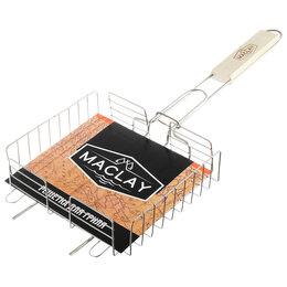 Решетки - Решётка-гриль для курицы Maclay, нержавеющая сталь, размер 22 x 20,5 см, 0