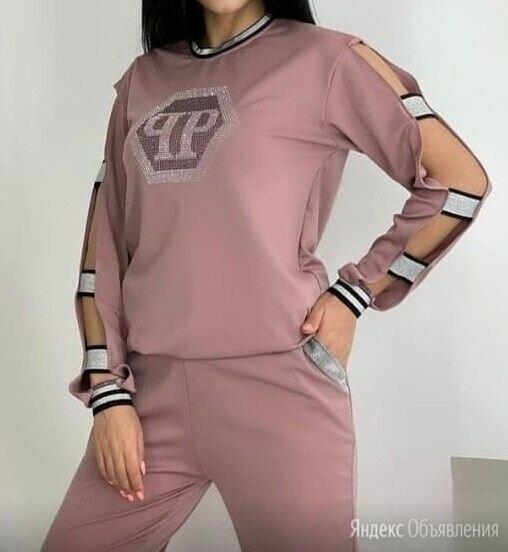 Женский брючный костюм Philipp Plein р-ры 46-56 по цене 1399₽ - Костюмы, фото 0