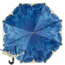 Зонты от солнца - Зонт складной Auto Georgin Blu Pelle Pasotti- новый , 0