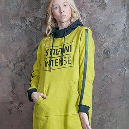 Толстовки - Толстовка спортивная женская. Цвет лайм. Stillini™, 0