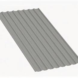 Кровля и водосток - Профнастил МП20 A Полиэстер 0,7 мм RAL 9006 Бело-алюминиевый, 0