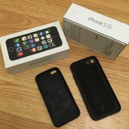 Чехлы - Новый айфон 5s черный, 0