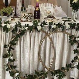 Свадебные украшения - Декор президиума стола молодожёнов на свадьбу, 0