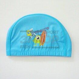 Аксессуары для плавания - Шапочка для плавания дет прорезин ткань мультяшки, 0