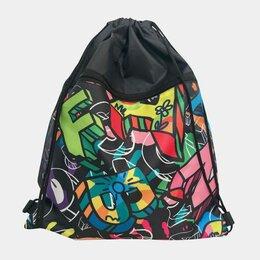 Рюкзаки, ранцы, сумки - Мешок для второй обуви граффити , 0