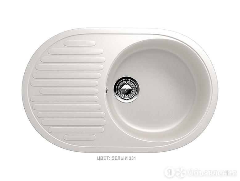 """Мойка врезная """"Ulgran U-107"""" Белый по цене 5886₽ - Кухонные мойки, фото 0"""