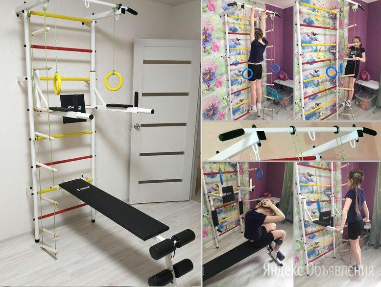 Спортивный комплекс для дома по цене 11500₽ - Гимнастические снаряды и спортивные комплексы, фото 0