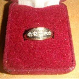 Кольца и перстни - Кольцо дорожка золото 585 проба бриллианты винтаж 80-х годов, 0