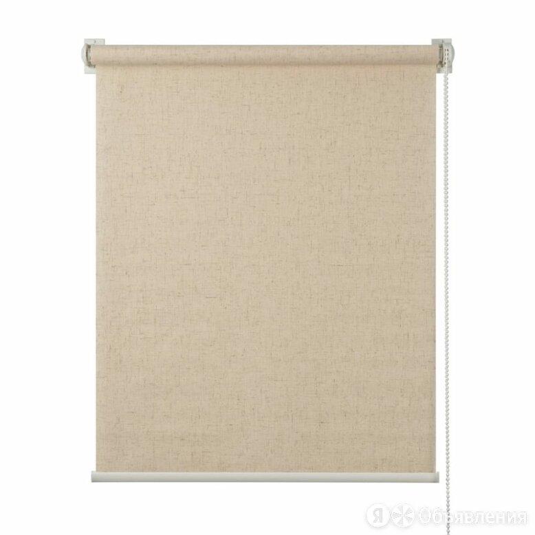 Рулонная штора ПраймДекор Натур по цене 3412₽ - Римские и рулонные шторы, фото 0