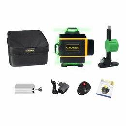 Измерительные инструменты и приборы - Лазерный уровень GROSAM 16 линий, 0