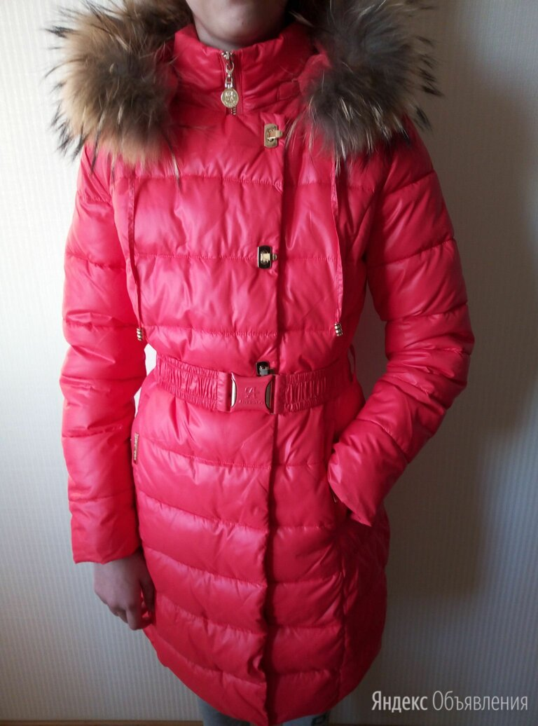 Пуховое пальто, стильный пуховик на рост 158 см по цене 4600₽ - Куртки и пуховики, фото 0