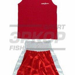 Спортивные костюмы и форма - Форма боксёрская Рэй-Спорт красн (х8), 0