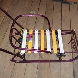 Санки и аксессуары - Санки с колесами, 0