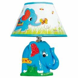 Настольные лампы и светильники - Детская настольная лампа D1-37 Blue Gerhort, 0
