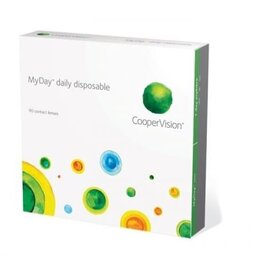 Устройства, приборы и аксессуары для здоровья - Контактные линзы coopervision myday daily disposable, 0