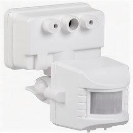 Дополнительное оборудование и аксессуары - Датчик движения ДД 019 белый, макс. нагрузка 1100Вт, угол обзора 120 гр, дальнос, 0