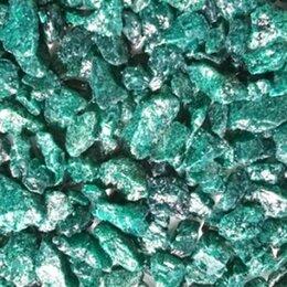 Грунты для аквариумов и террариумов - Уют Грунт натуральный Мраморная крошка изумрудный. средний. 5-10 мм, 0,5 кг., 0