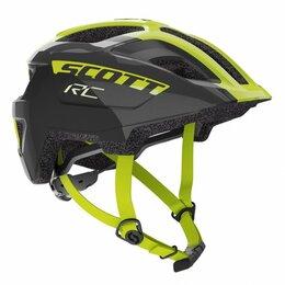 Защита и экипировка - Шлем велосипедный подростковый Scott Spunto Junior (CE), черно-желтый 2020 (Ра, 0